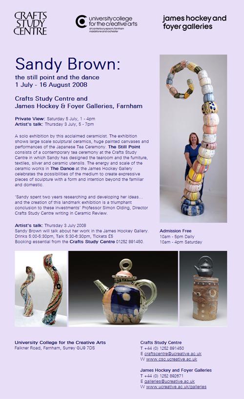 Sandy Brown Exhibition