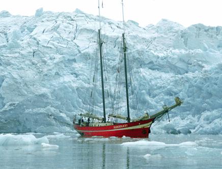 the former Dutch schooner 'The Noordelicht'.