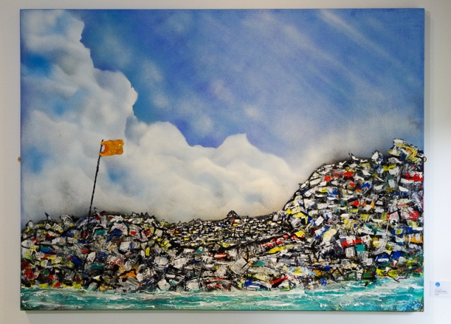 Garbage Island - Robin Lewis